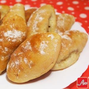Вкусные дрожжевые пирожки с начинкой